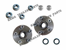 5 STUD COMMODORE HUBS WITH HOLDEN BEARING KITS TRAILER HUBS