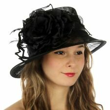 Kentucky Derby Church Wedding Sinamay Dress Hat N8A