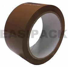 Strong BROWN BUFF 48mm X 66M (2 Inch) Parcel Tape Packaging Packing Tape