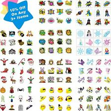 36 Childrens Fun Temporary Tattoos Kids Loot Party Bag Fillers Boys Girls