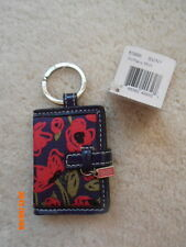 NWT POPPY FLOWER FLORAL PICTURE PHOTO  FRAME  KEY CHAIN  KEY FOB  KEYRING