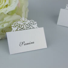 Personalized Crown Table Fold Cards Name Place Cards Wedding,Wedding favors