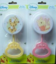 New Disney Winnie The Pooh Baby Rattle, Tigger, Baby Shower