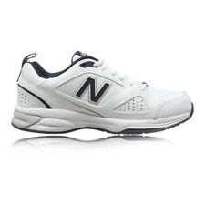 New Balance MX624v4 Mens White Cushioned Road Running Sports Shoes Trainers