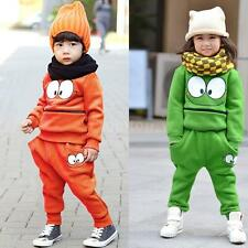 2015 Baby Boy Girls Suits Tracksuit Cartoon Smiling Face Top Harem Pant Outfit
