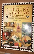 Country Painting Projects Reader's Digest by Emma Hunk ( Hardcover 1996 ) Tole