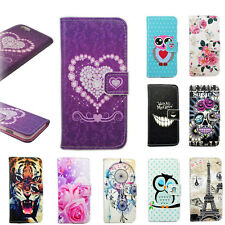 Credit Card Holder Flip PU Leather Cover Skin Case Pouch For Apple iPhone 6 5 5S