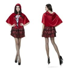 Sexy Costume Little Red Riding Hood Womens Fancy Dress Halloween Cosplay Outfit
