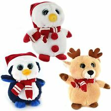 Plush Christmas Toy Cute Soft Xmas Penguin  Snowman Kids Childrens Gift Present