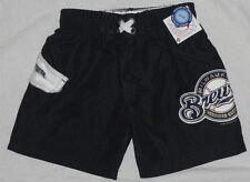NEW! Milwaukee Brewers Boys Swimsuit Trunks Shorts (Choose Size) Childrens NWT!
