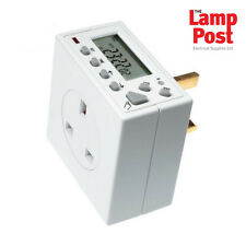 Timeguard TG77  7 Day Timer Compact Digital Electronic Plug In Time Switch