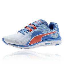 Puma Faas 500 V4 Womens Blue Sneakers Running Trainers Pumps Sports Shoes