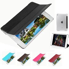 For Apple iPad Mini 4 Ultra Slim Magnetic Wake Smart Cover PU Leather Case Stand