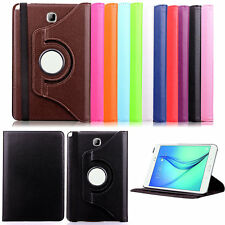 360° degree Rotation PU Leather Stand Case Cover For Samsung Galaxy Tab Tablet