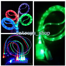 New Glow LED Light Data Sync Charger USB Cable For iPhone 4/4S/5/5C/5S/6/6 Plus