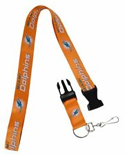 NFL Miami Dolphins LITE ORANGE Lanyard