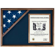 Flag And Military Insignia Display Cases Hand Made By Veterans