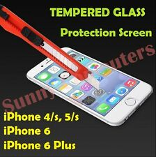 New Scratch Resist Tempered Glass Screen Protector Film Guard for iPhone 6 5 4/s
