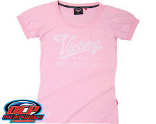 BRAND NEW VICTORY MOTORCYCLES WOMENS 106 PINK TEE SHORT SLEEVE SHIRT