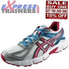 Asics Womens Patriot 7 Running Shoes Gym Fitness Trainers White AUTHENTIC