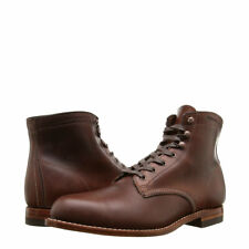 New Men's WOLVERINE 1000 Mile W05301 Brown Leather Boots MADE IN USA Retro