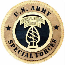 U.S. Army Special Forces Wall Tribute, U.S. Army Special Forces Hand Made Gift