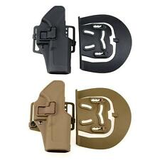 Tactical CQC Right Waist Belt Loop Paddle Pistol Holster f/ Glock 17 19 22 23 31