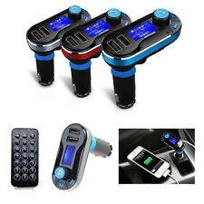 Bluetooth Car MP3 Player FM Transmitter Modulator USB SD LCD Handsfree + Remote