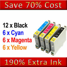 30 NON-OEM CHEAP INK CARTRIDGES REPLACE FOR T0715 T0615 T0556 T0445