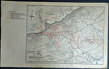 Military Map Nooitgedacht, Dec. 13, 1900 Boer War South Africa