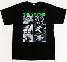 The SMITHS T-shirt Morrissey 80's Alternative Rock Tee Adult S,M,L,XL Black New