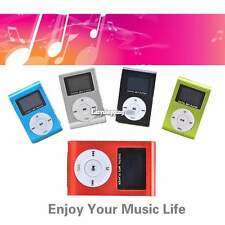 NEW For 4GB 8GB 16GB 32GB Slim Mini  Mp3 Player With LCD Screen FM Radio Media