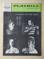 November 3rd, 1958 - Helen Hayes Theatre Playbill - A Touch Of The Poet - Hayes