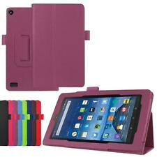 Leather Case Protectors Stand Cover Skin For Amazon Kindle Fire HD 7 2015 Tablet