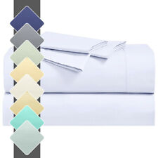 22 Inches Abripedic Percale Super Deep Pocket Cotton Sheets Set