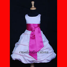 Flower Girl Dress Communion Pageant Wedding Easter Graduation Bridesmaid Holiday