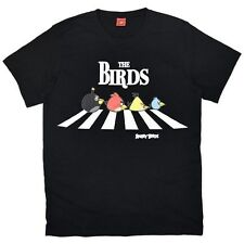Men's Licensed Angry Birds, Abbey Road, T-Shirt, Sizes: XS, S & M Left Only BNWT