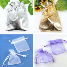 Organza Voile Pouches Jewelry Wedding Christmas Xmas Favor Gift Bags Wholesale
