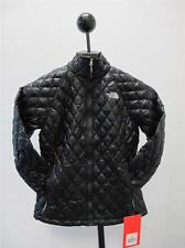 NEW WOMEN'S THE NORTH FACE THERMOBALL PULL ZIP c775JK3-TNF BLACK  WARM JACKET