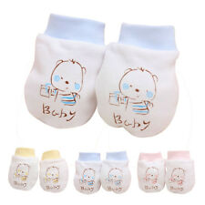 1 Pair Warm Cute Cartoon Baby Infant Boys Girls Anti Scratch Mittens Soft Gloves