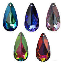 SWAROVSKI ELEMENTS 6100 Teardrop Crystal Pendants 24mm Many Colors
