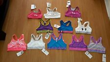 Under Armour Girls' Heat Gear Sports Bra, Many Styles & Colors, MSRP $21.99-24.9