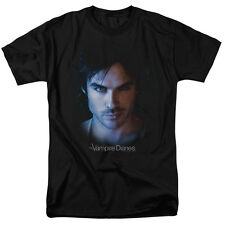 the Vampire Diaries - DAMON - Ian Somerhalder Up Close - Print to Size T-Shirt