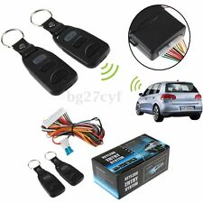 2 Remote Car Control Central Lock System Auto Locking Security Keyless Entry Kit