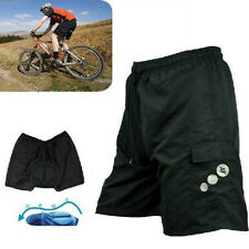 Men's Cycling MTB Mountain Bicycle Leisure Shorts Half Pants 3D Padded Underwear