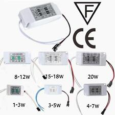 Power Supply Driver For LED Lights Bulbs Lamps 1-3W 5W 10W 20W 30W 300mA 85-265V