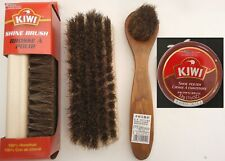 KIWI BROWN  SHOE POLISH CREAM KIWI SHINE BRUSH & DAUBER, SELECT: Items