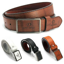 Luxury Waistband Leather Automatic Buckle Waist Strap Leather Belts For Men New