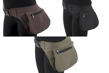 Vegan Leather Waist Hip Pack Bag Belt Burning Pouch Party Playa Rave woman man