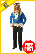 MENS Costume Fancy Dress Up RD Licensed Disney Beauty And The Beast S M L XL